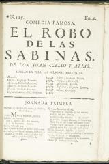 El robo de las sabinas :