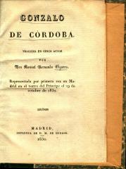 Gonzalo de Córdoba :
