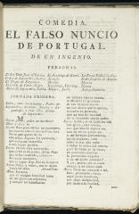 El falso nuncio de Portugal :
