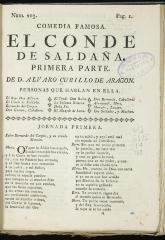 El conde de Saldaña.