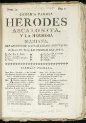 Herodes Ascalonita y la hermosa Mariana :