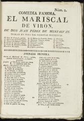 El mariscal de Virón :