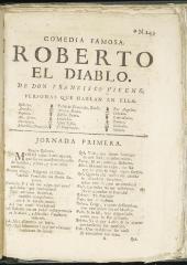 Roberto el diablo :