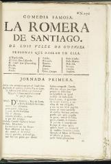 La romera de Santiago /