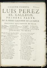 Luis Perez el gallego /