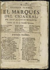 El marqués del Cigarral :