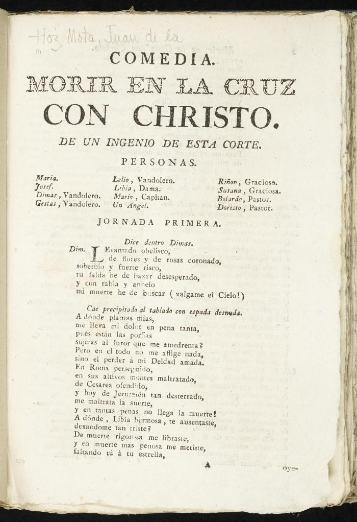 Morir en la cruz con Christo :
