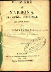 El conde de Narbona :