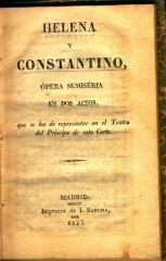 Helena y Constantino :