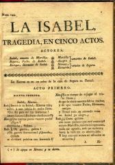 La Isabel :