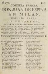 Don Juan de Espina en Milan.