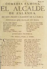 El alcalde de Zalamea /