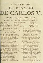 El desafio de Carlos V /