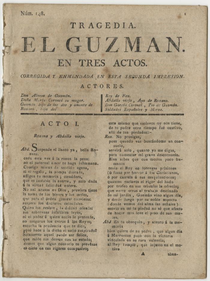 Queens College. Guzmán, t.p.