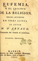 Eufemia, o, El triunfo de la religión :