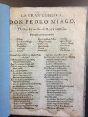 La gran comedia, Don Pedro Miago /