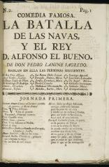 La batalla de las navas y el rey D. Alfonso el bueno :