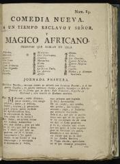 A un tiempo esclavo y señor, y mágico africano :