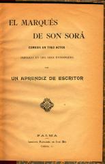 El Marqués de Son Sorá :
