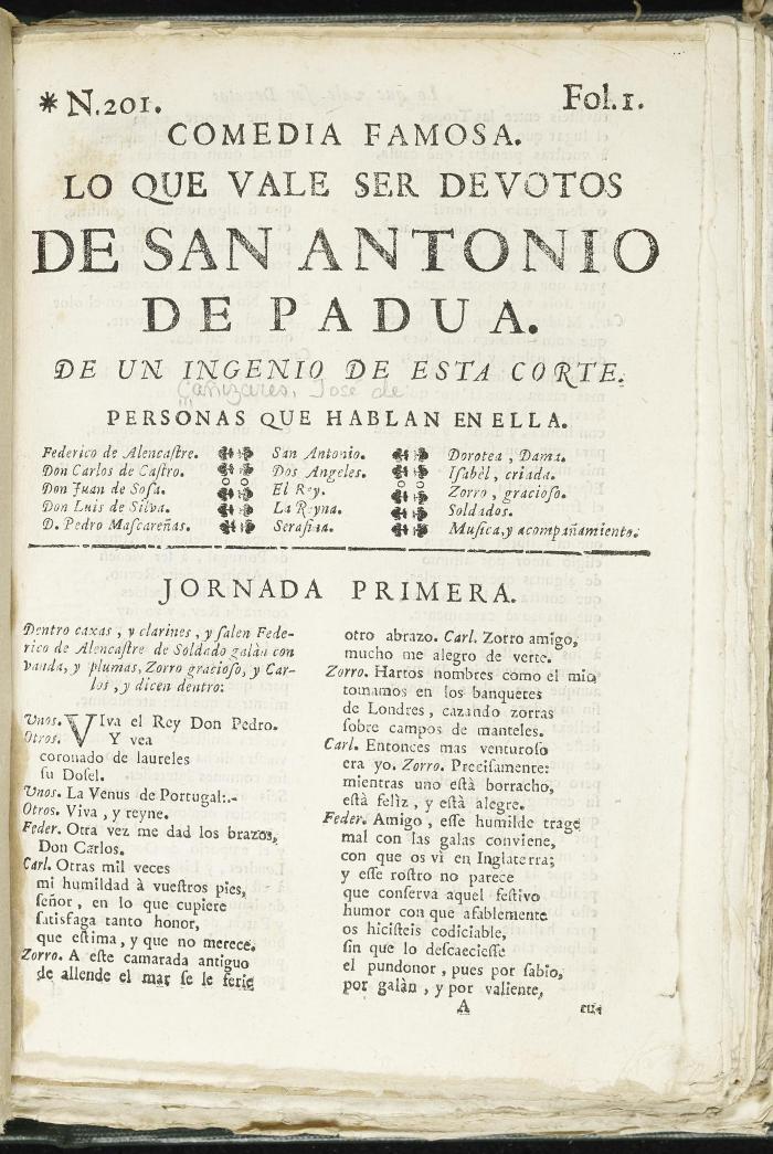 Lo que vale ser devotos de San Antonio de Padua :